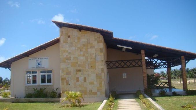 Foto da fachada do Ecoposto de Idema.