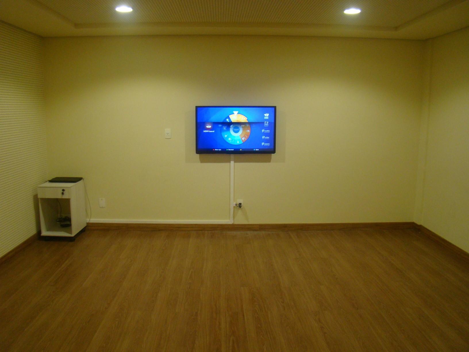 Foto da sala de eficiência energética do Ecoposto de Idema.