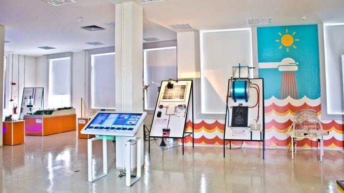 Imagem interna do Espaço Museu da Energia