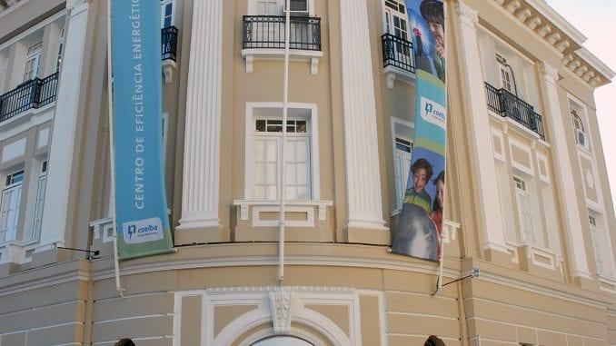 O Museu da Energia está localizado na Praça da Sé, Centro Histórico de Salvador.